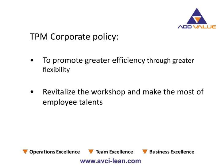 TPM Corporate