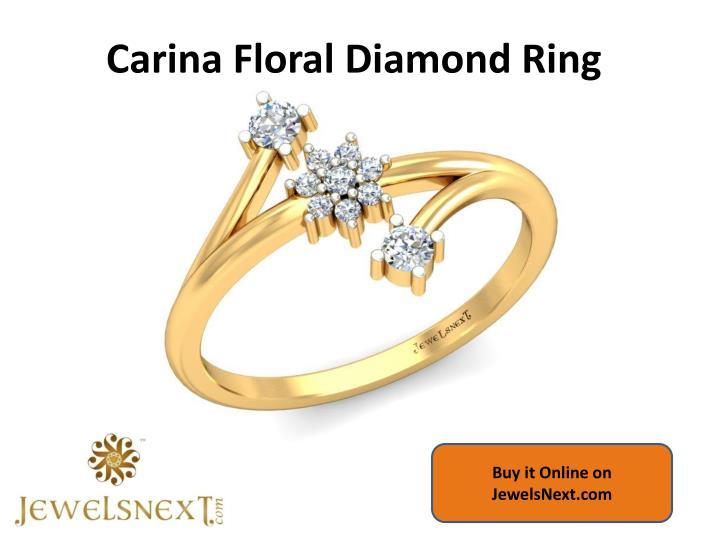 Carina Floral Diamond Ring