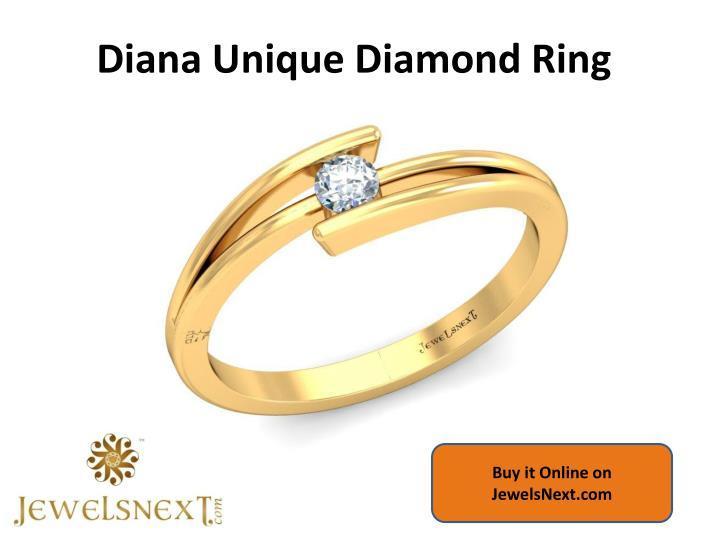 Diana Unique Diamond Ring