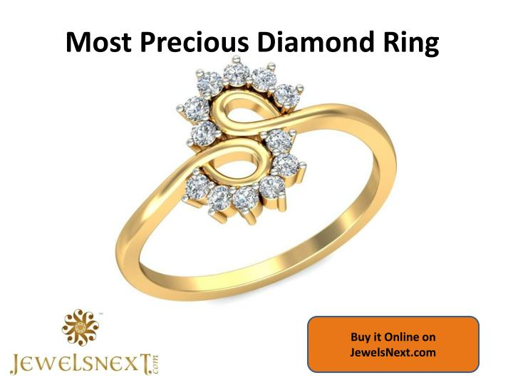 Most Precious Diamond Ring
