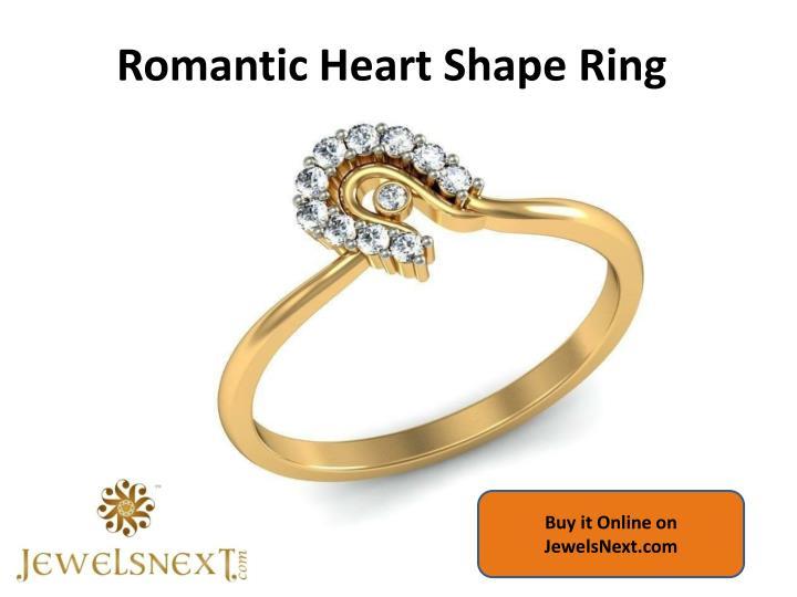 Romantic Heart Shape Ring