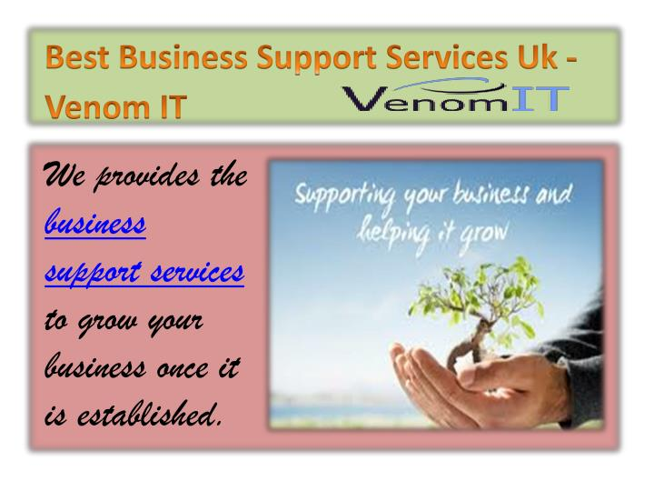 Best Business Support Services Uk - Venom IT