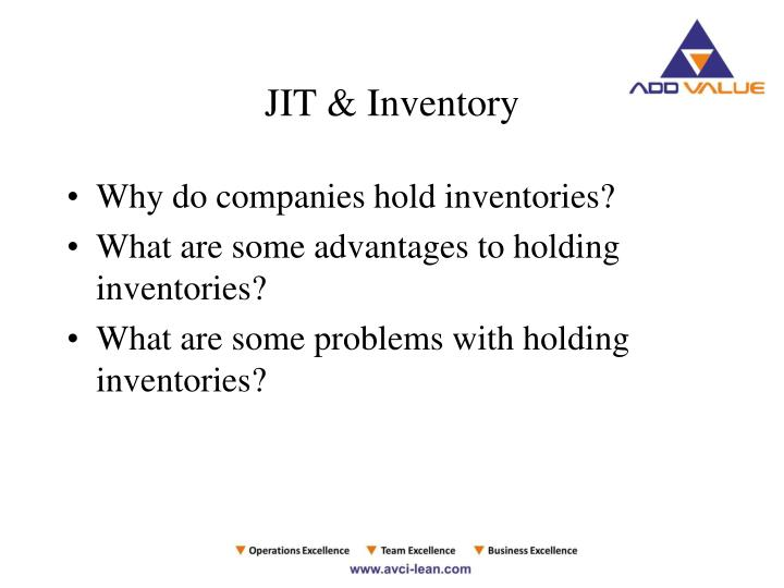 JIT & Inventory