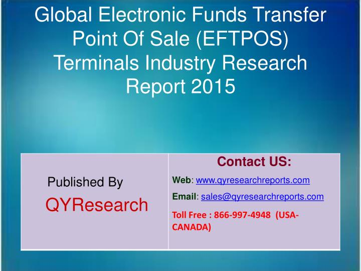 Global Electronic Funds Transfer