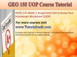 geo 155 uop course tutorial1
