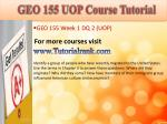geo 155 uop course tutorial3