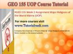 geo 155 uop course tutorial5