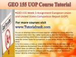 geo 155 uop course tutorial8