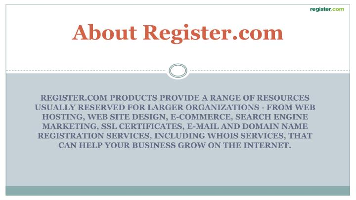 About Register.com