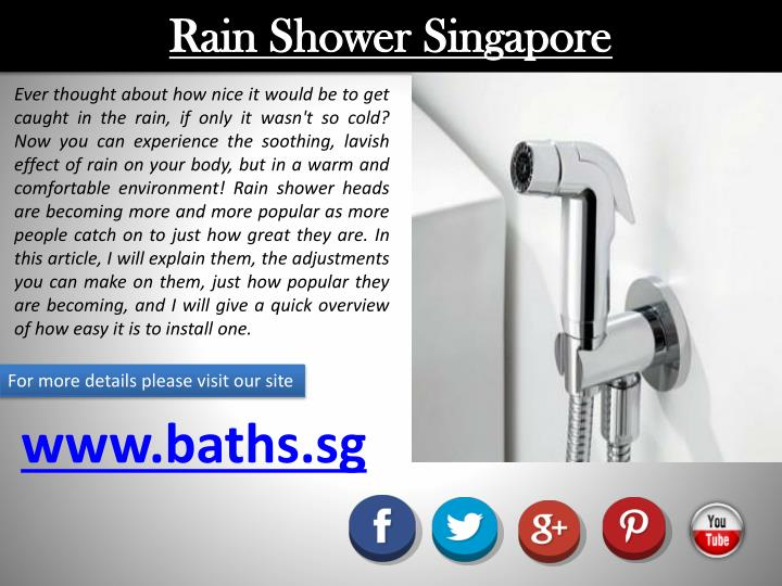 Rain Shower Singapore