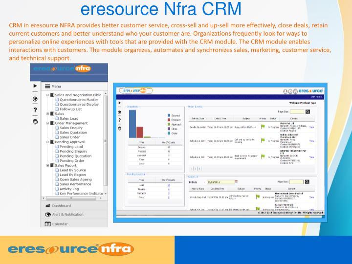 eresource Nfra CRM