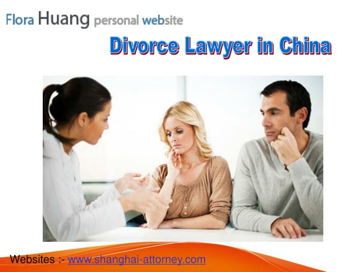Divorce Lawyer in China
