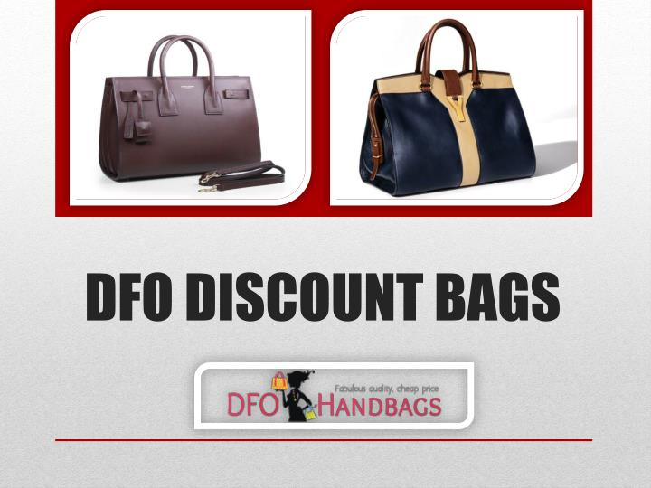 Dfo discount bags