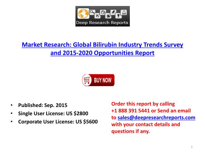 Market Research: Global