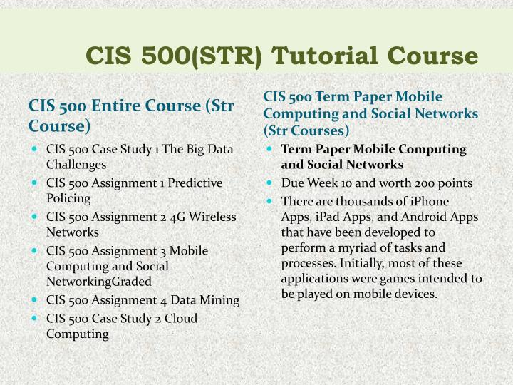 cis500helps