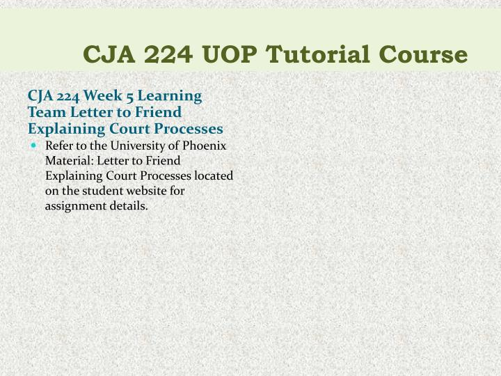 cja224 week 1 For more course tutorials visit wwwcja224com cja 224 week 1 individual assignment court history and purpose paper cja 224 week 1 dq 1 cja 224 week 1 dq 2.