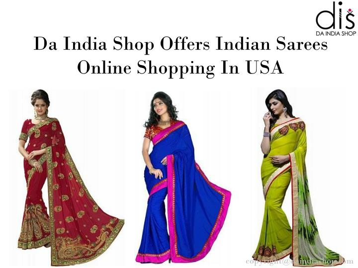 ppt indian bridal sarees online shopping in usa da. Black Bedroom Furniture Sets. Home Design Ideas