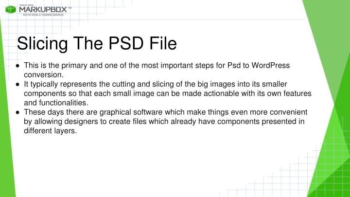 Slicing The PSD File