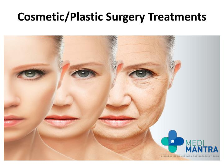 Cosmetic plastic surgery treatments
