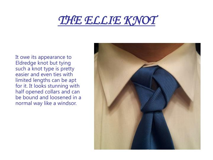 THE ELLIE KNOT