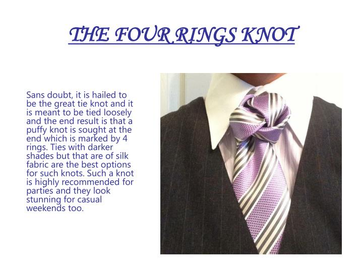 THE FOUR RINGS KNOT