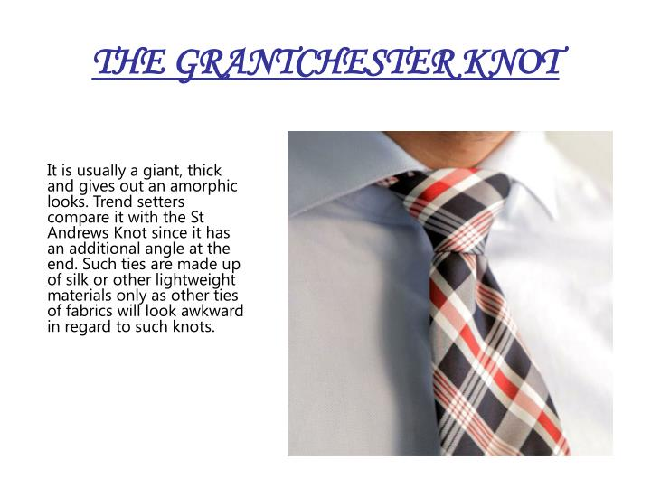 THE GRANTCHESTER KNOT