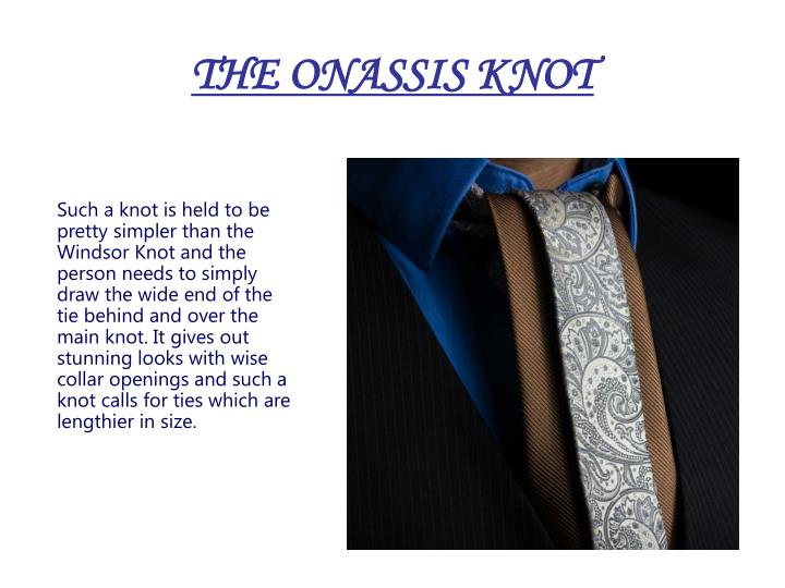 THE ONASSIS KNOT