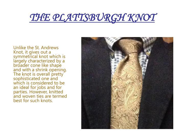 THE PLATTSBURGH KNOT