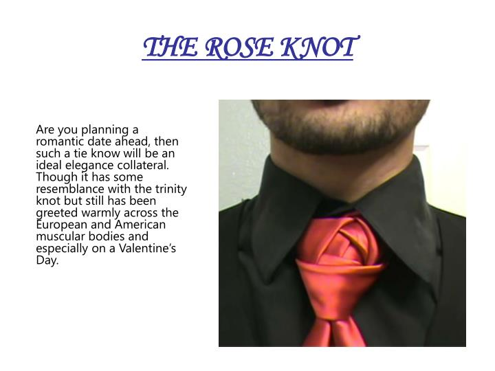 THE ROSE KNOT