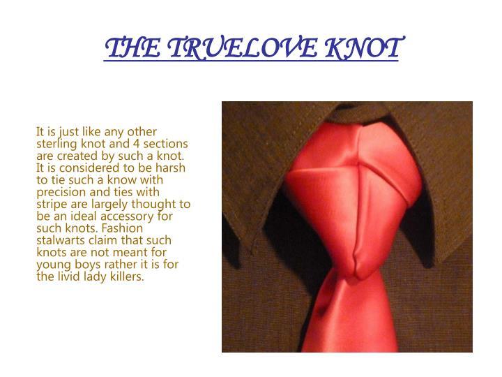 THE TRUELOVE KNOT