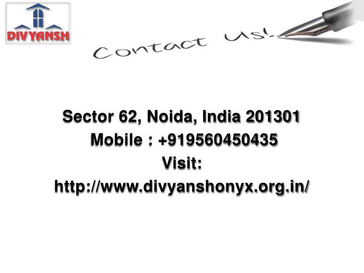 Sector 62, Noida, India 201301