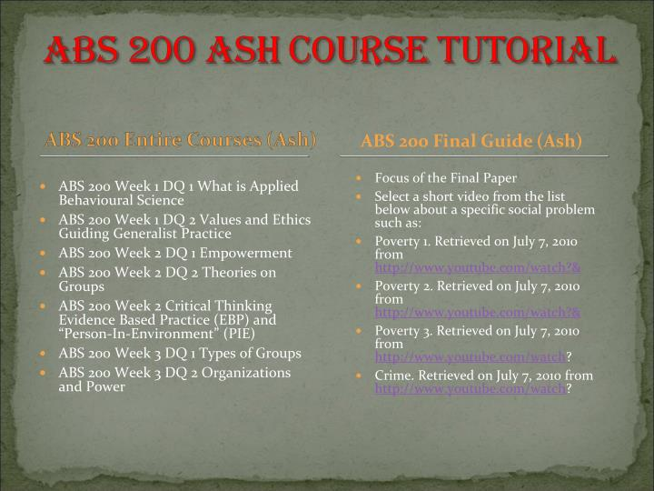 ABS 200 Final Guide (Ash)