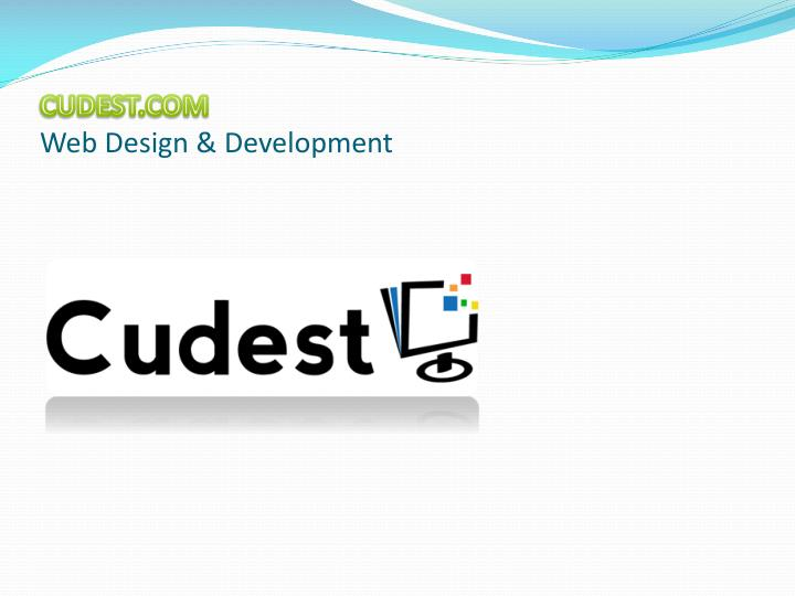 Cudest com web design development