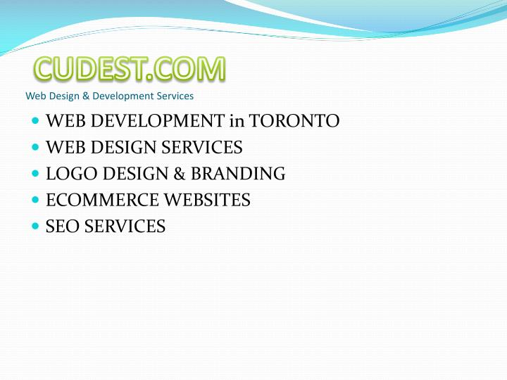 Cudest com web design development services
