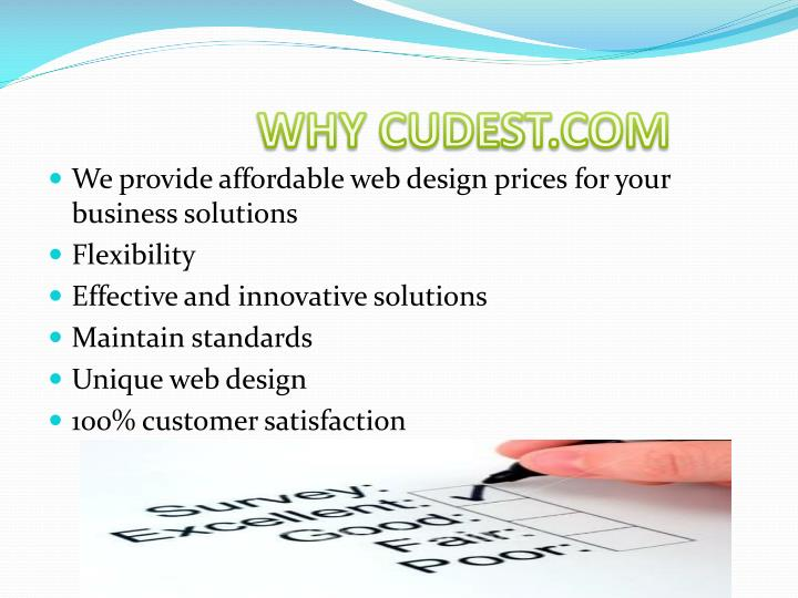 WHY CUDEST.COM