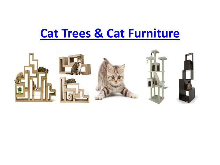 Cat trees cat furniture