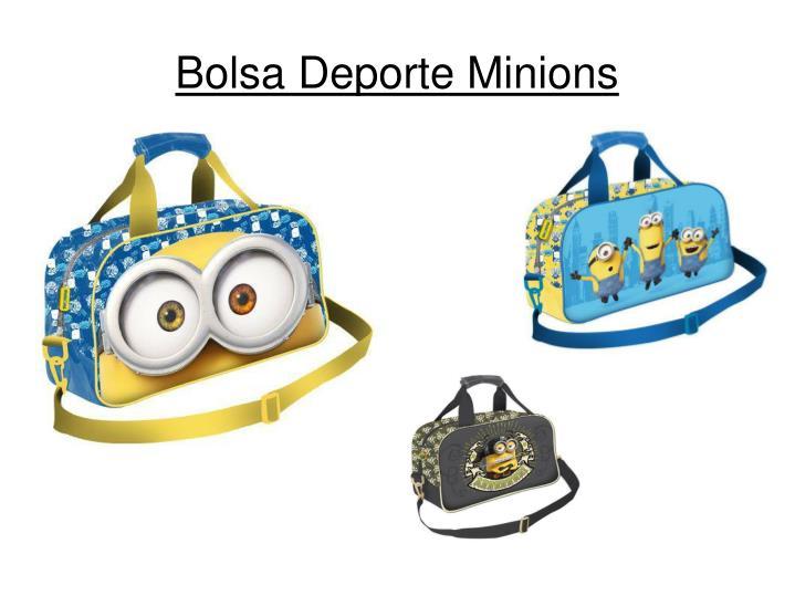 Bolsa Deporte Minions