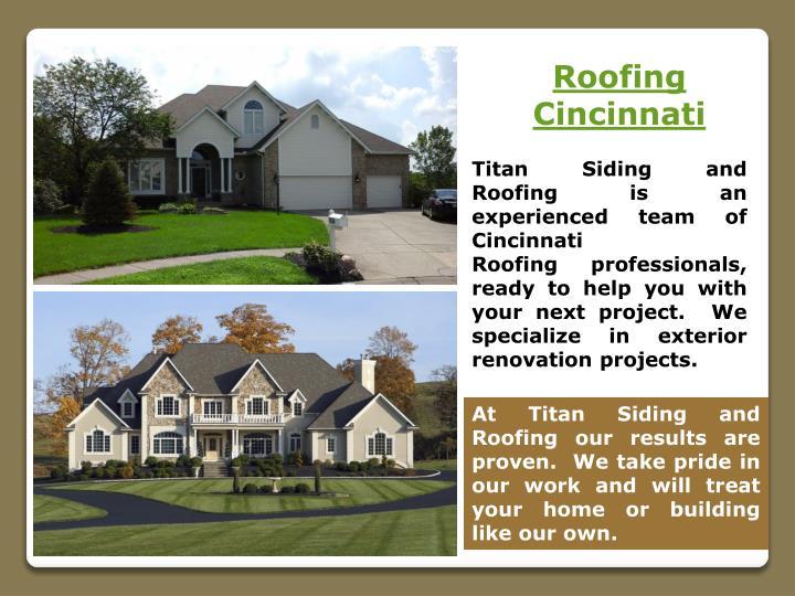 Roofing Cincinnati