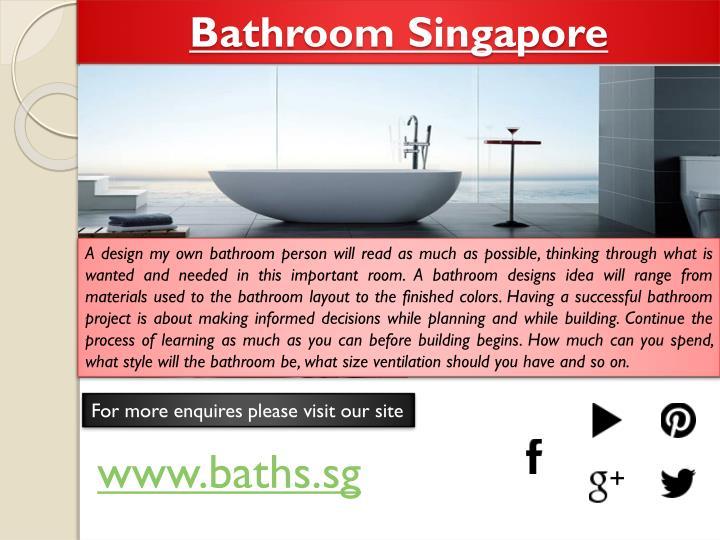 Bathroom Singapore