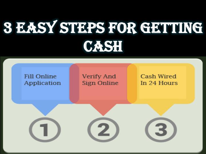 3 Easy Steps For Getting Cash