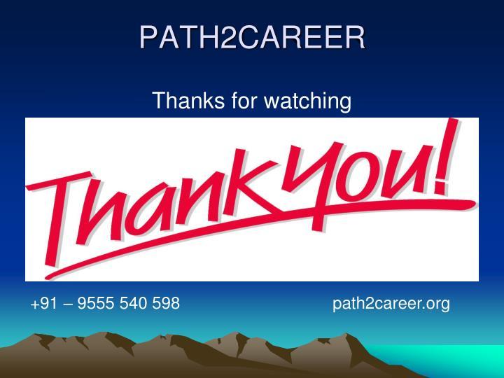 PATH2CAREER