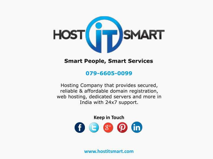 Smart People, Smart Services