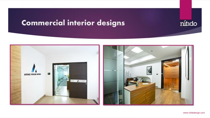 ppt commercial interior design an important off spring