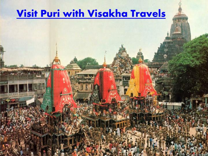Visit Puri with Visakha Travels