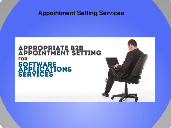 Appointment Setting Services