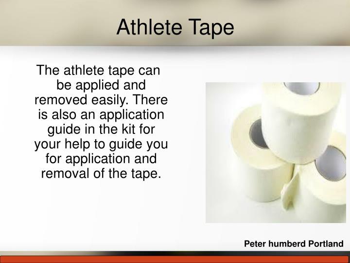 Athlete Tape