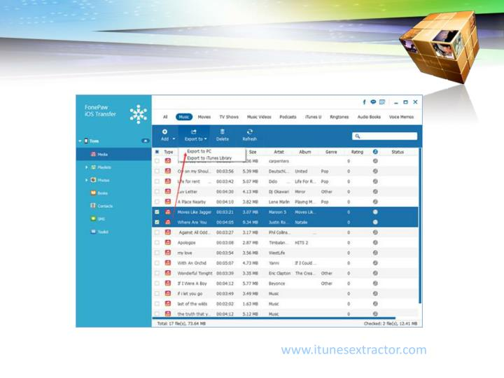 www.itunesextractor.com
