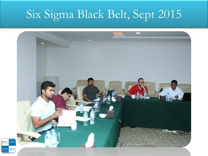 Six sigma black belt sept 20151