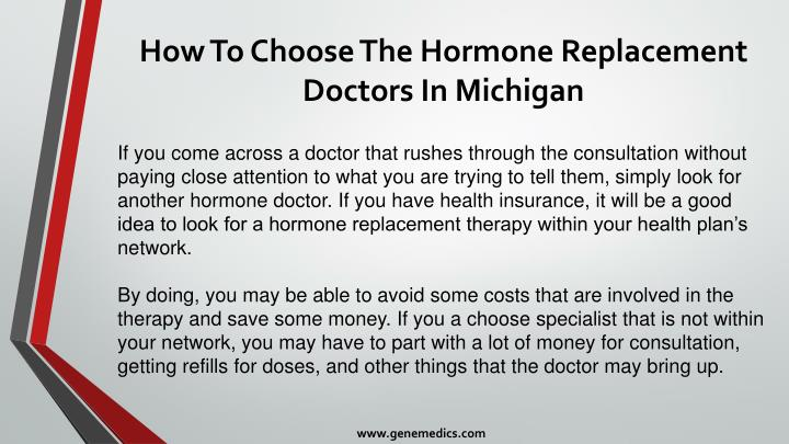 How To Choose The Hormone Replacement Doctors In Michigan