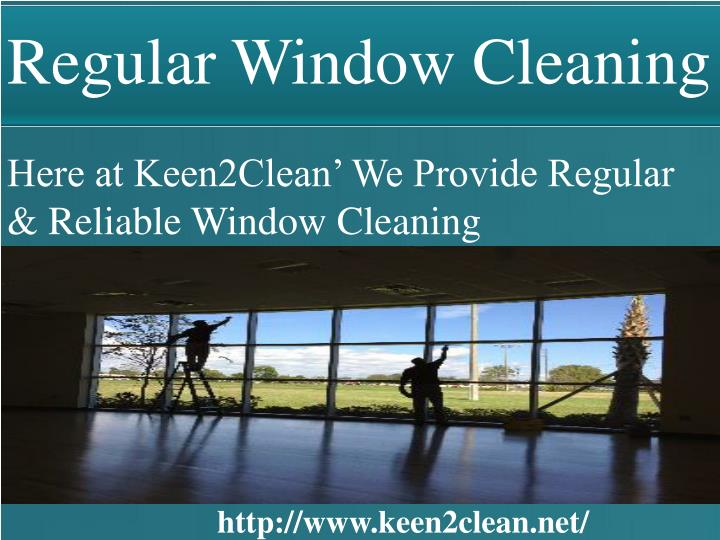 Regular Window Cleaning